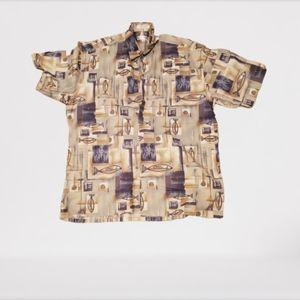 Pierre cardin size large button down shirt